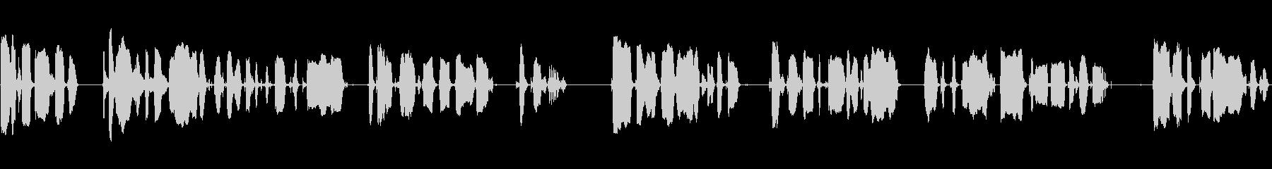 放送アナウンサー、女性の声:一般的...の未再生の波形