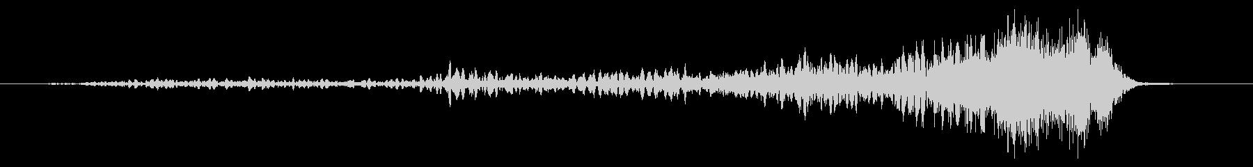シャンプインスイープ2の未再生の波形