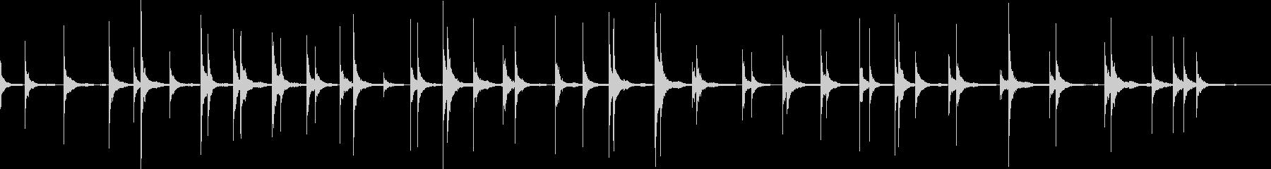 映画 スローな口笛風シンセ2 癒し 催眠の未再生の波形