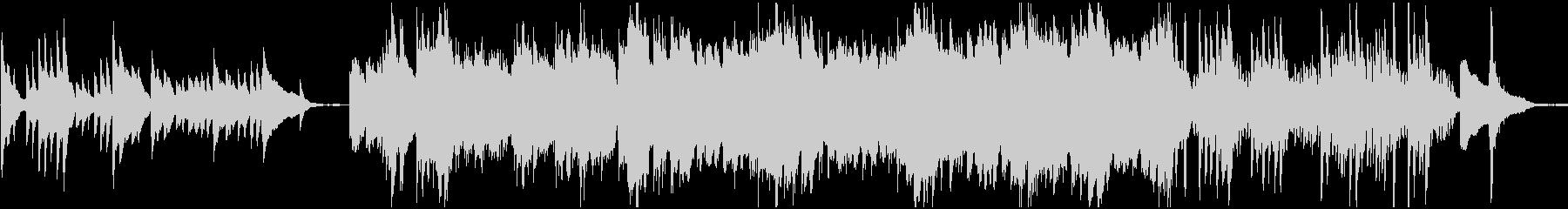 月/夜/ピアノソロ BGMの未再生の波形