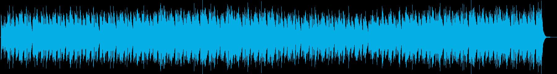 都会的で洒落たジャジーなBGMの再生済みの波形