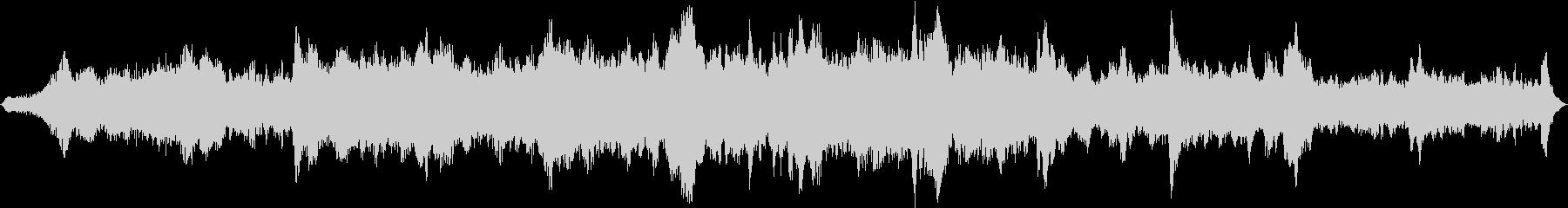 ドローン ミステリー01の未再生の波形