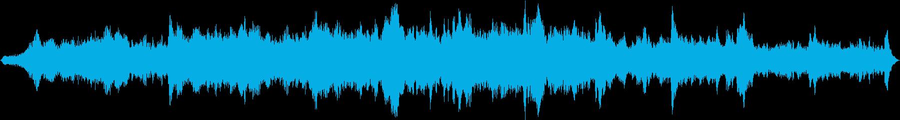 ドローン ミステリー01の再生済みの波形