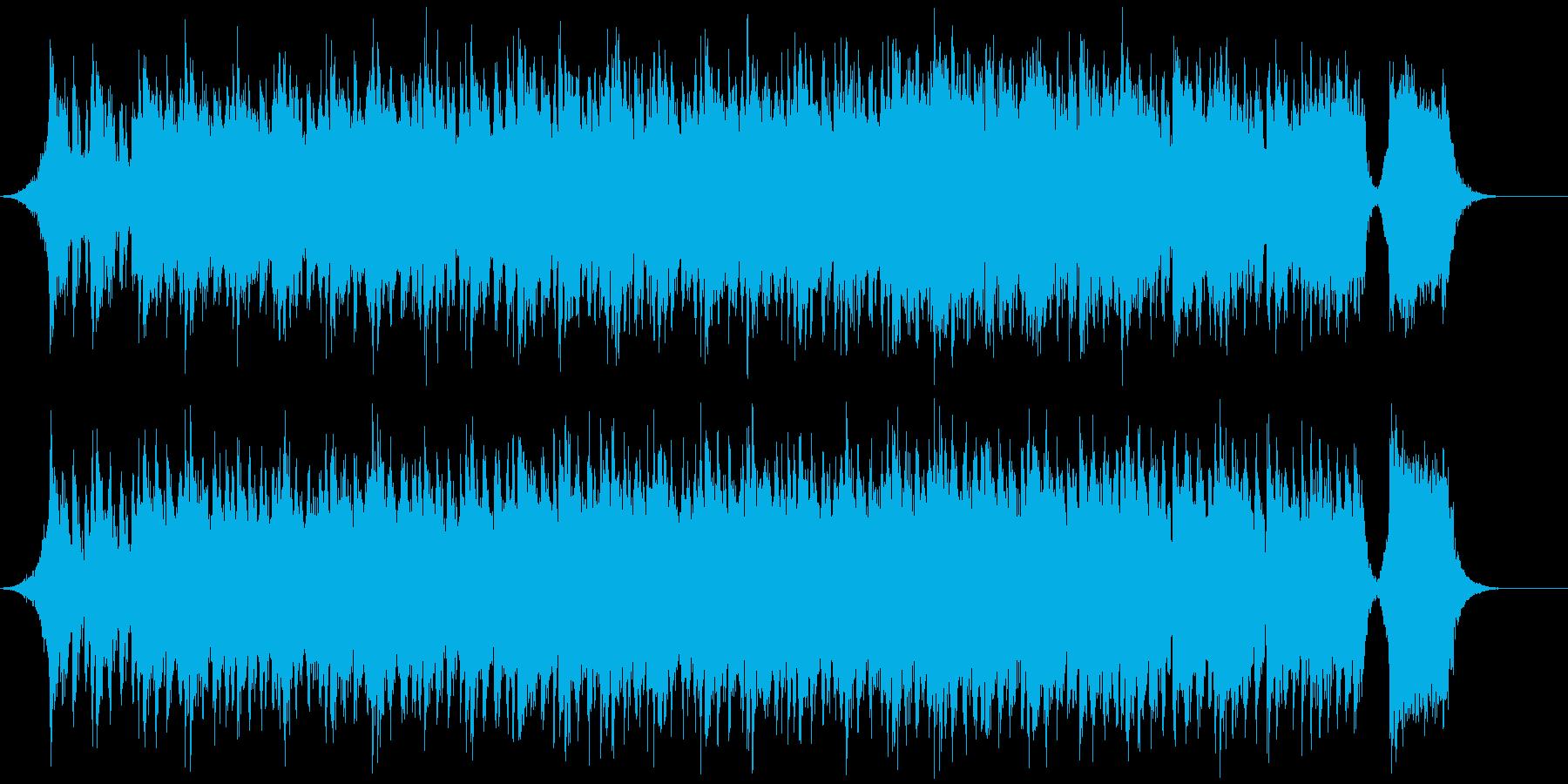 堂々としたダイナミックなオーケストラの再生済みの波形