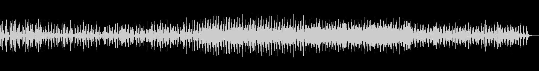 ほのぼのとした雰囲気のBGMの未再生の波形