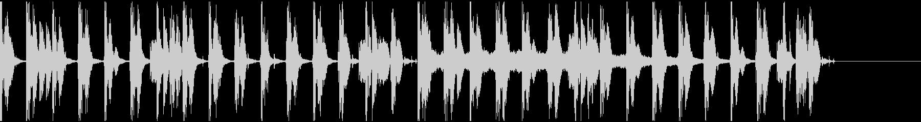 【エレクトロニカ】ロング5、ショート3の未再生の波形