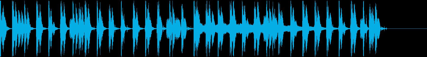 【エレクトロニカ】ロング5、ショート3の再生済みの波形