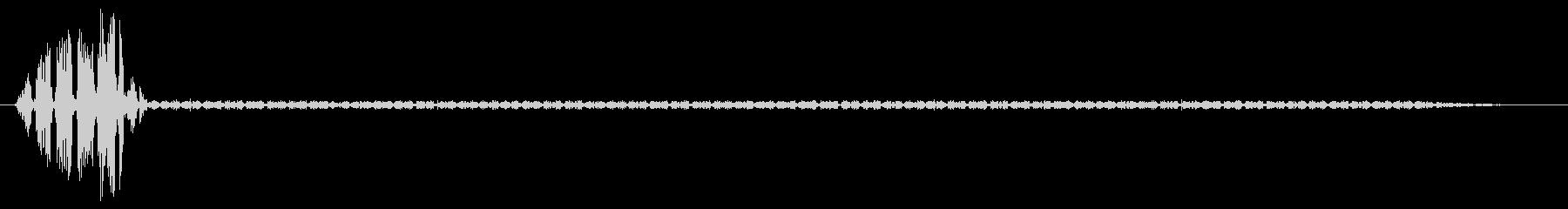 スペースインターフェイスまたはコン...の未再生の波形