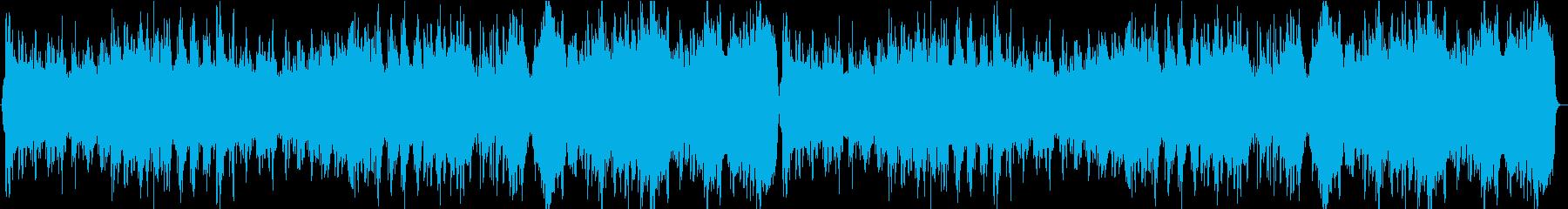 中華風の優雅なBGM ドラム無しの再生済みの波形