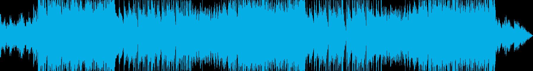優しいベルとピアノのトラップビートの再生済みの波形