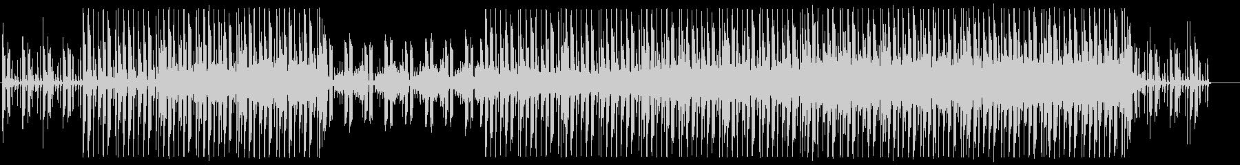 シンセウェイヴ 80's 3の未再生の波形