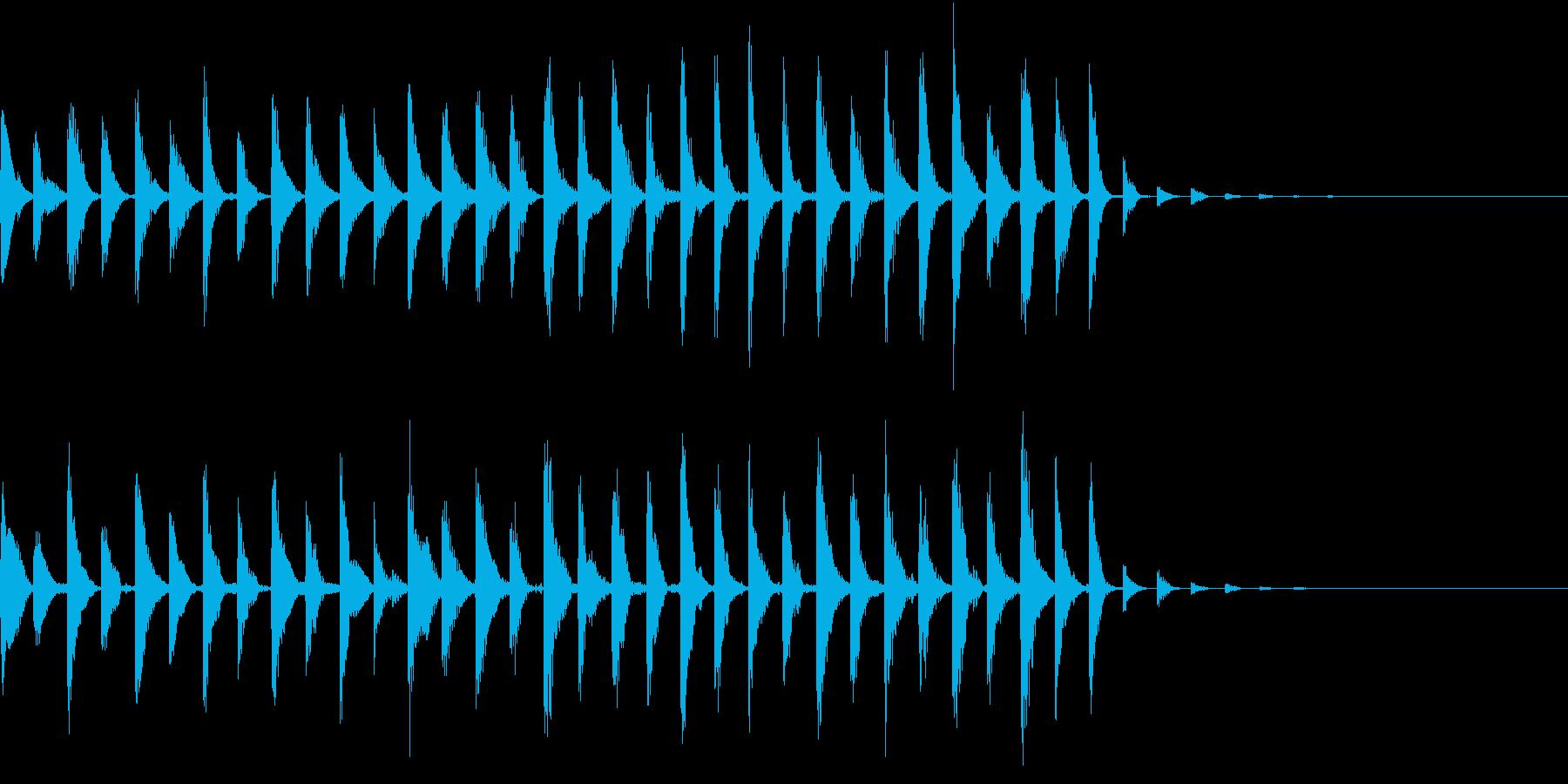 オープニングの再生済みの波形