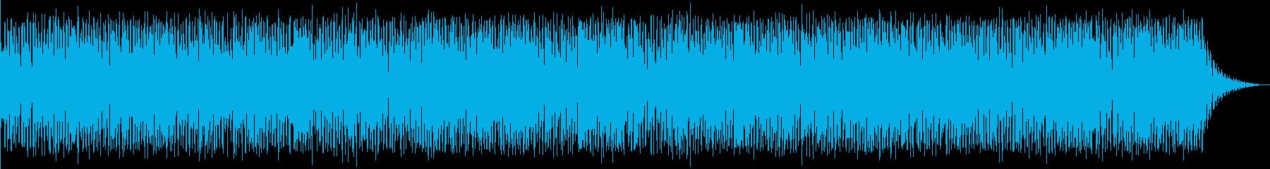 アフリカンブルースの再生済みの波形
