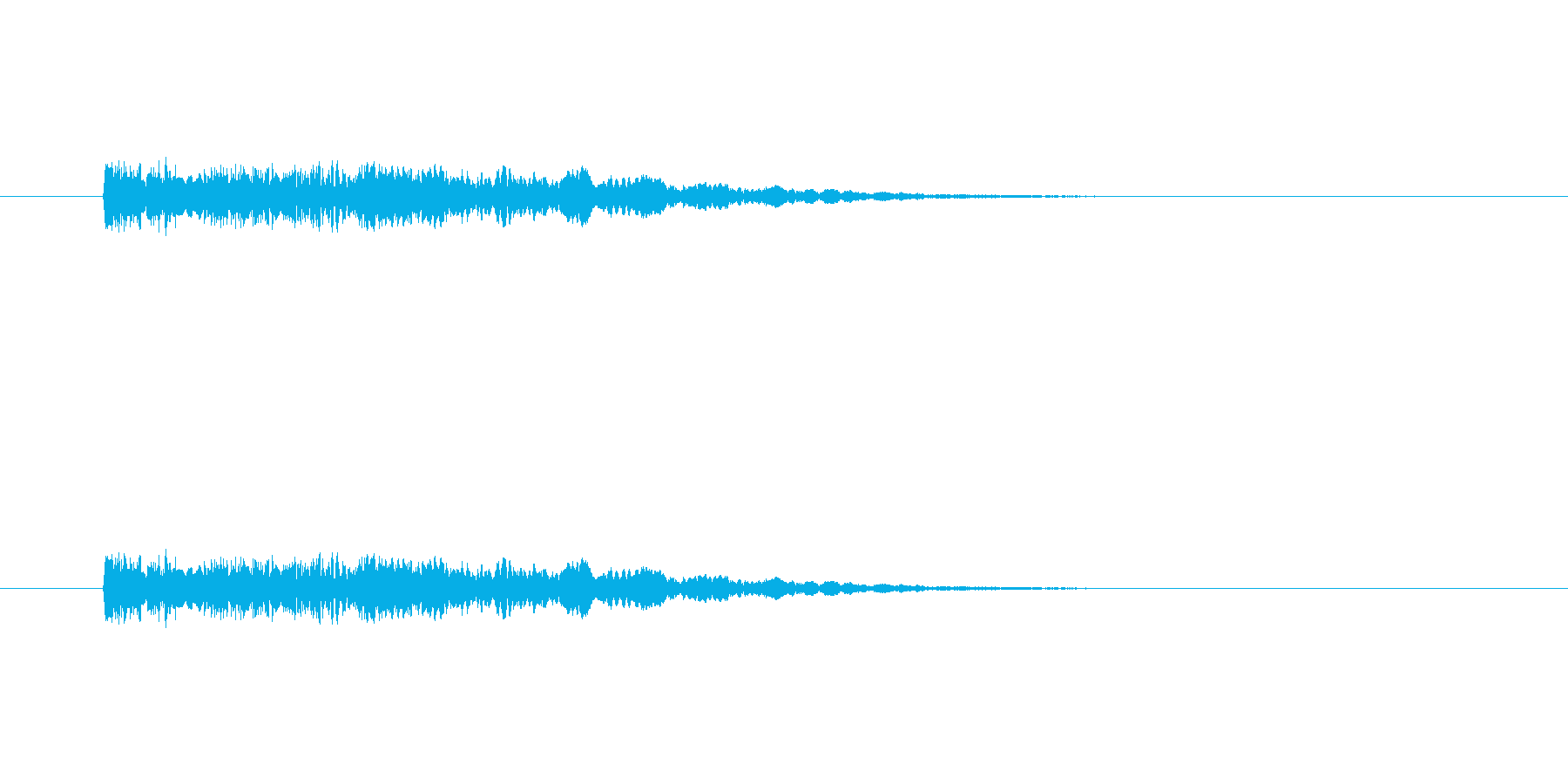 【光る08-2】の再生済みの波形