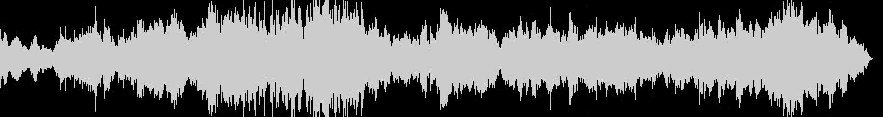 かっこいいシネマ音楽に仕上げましたの未再生の波形