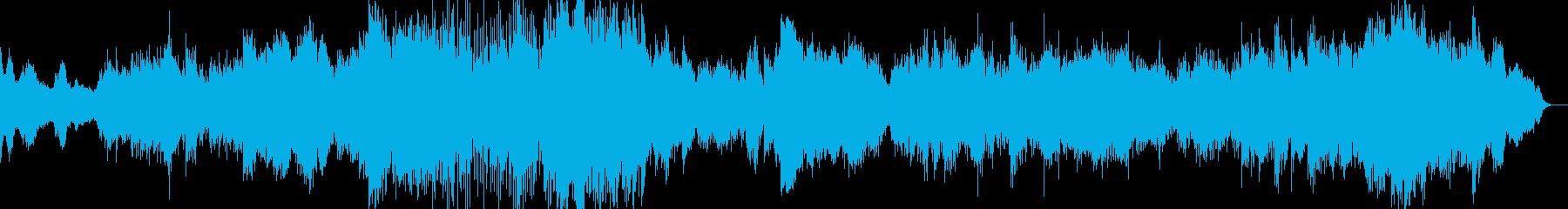 かっこいいシネマ音楽に仕上げましたの再生済みの波形