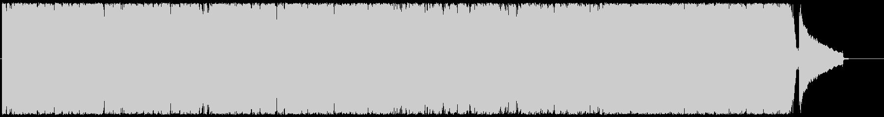 サックスとピアノのほのぼのポップスの未再生の波形