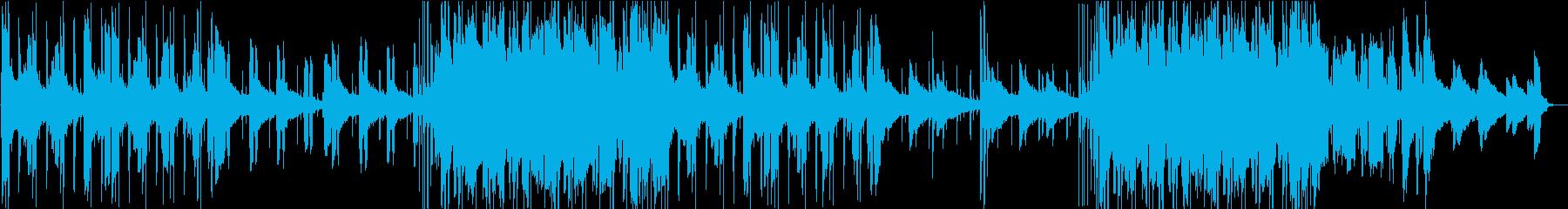 切ない。別れ。エレピバラードの再生済みの波形