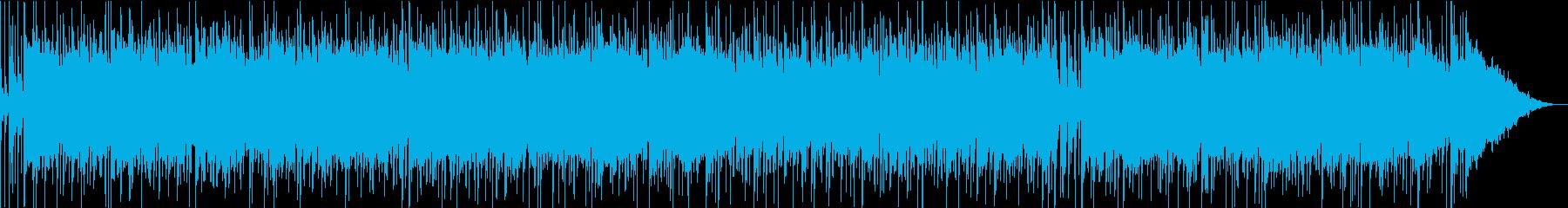ヘヴィロックリフに巡るEPディレイリフの再生済みの波形