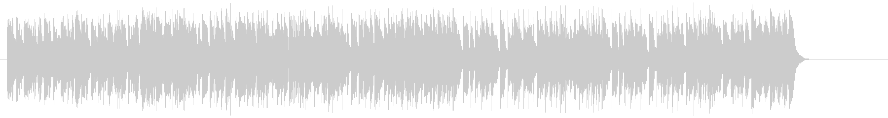悪さする様なポップ(イントロ~A~B…)の未再生の波形