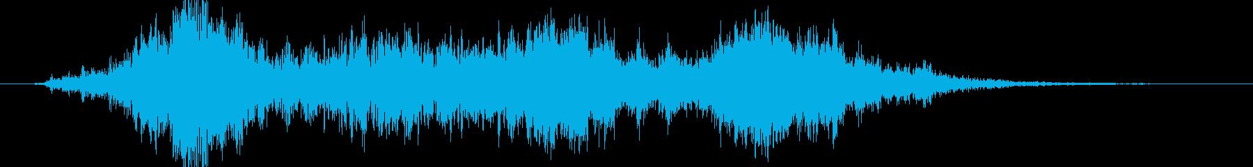 スペースポッド:小グループ、パスバ...の再生済みの波形