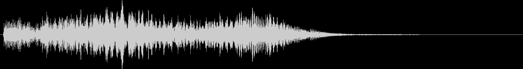 テレビ番組・CM・動画テロップ05の未再生の波形