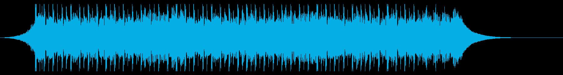 ポジティブ(30秒)の再生済みの波形