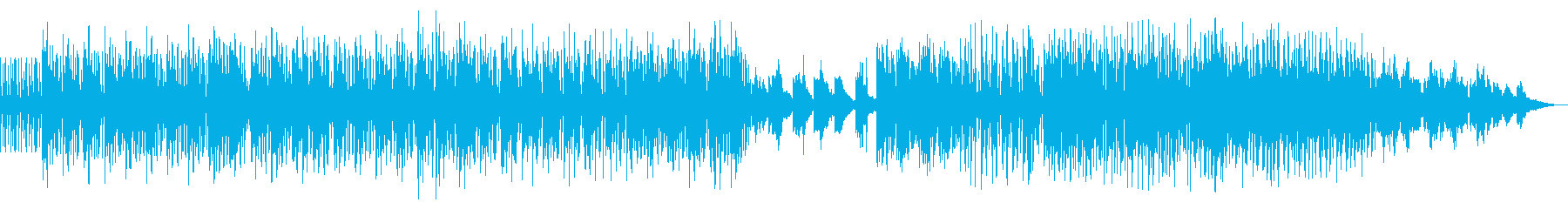 ファンキーでグルーヴ感抜群のhiphopの再生済みの波形