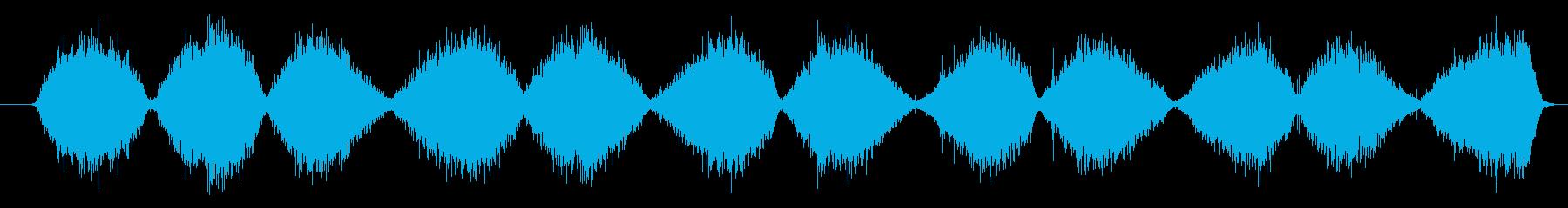 サンドペーパー:ファイングリット:...の再生済みの波形