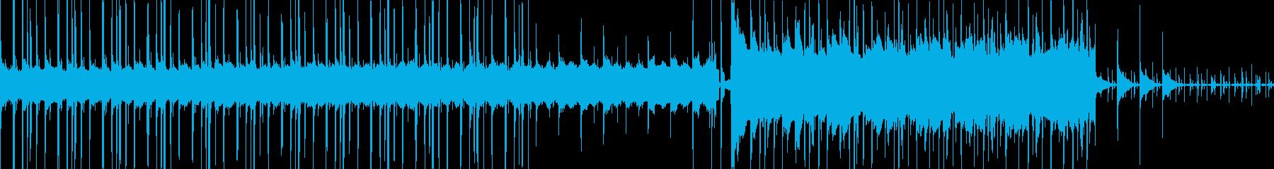 しっとりお洒落なLoFiヒップホップ、Lの再生済みの波形