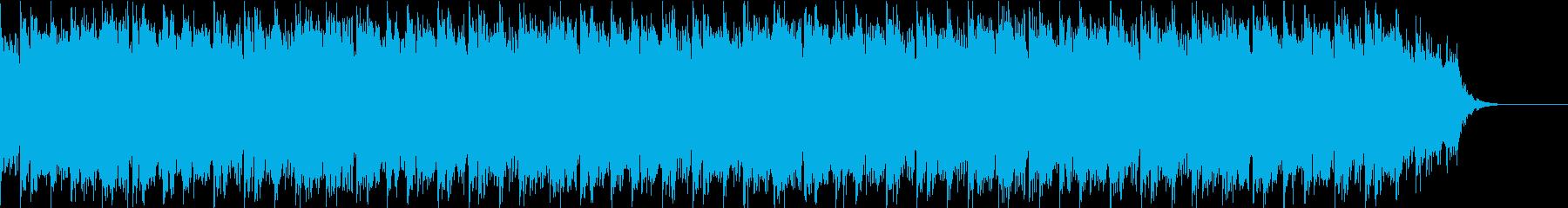 変拍子でミステリアスなホラーBGMの再生済みの波形