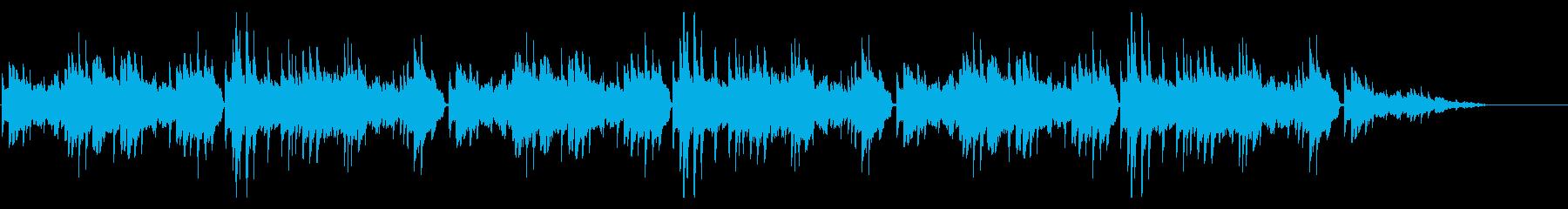 秋の定番童謡「紅葉」シンプルなピアノソロの再生済みの波形