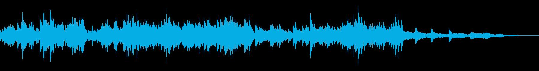 なつかしい感じのピアノ曲です。の再生済みの波形