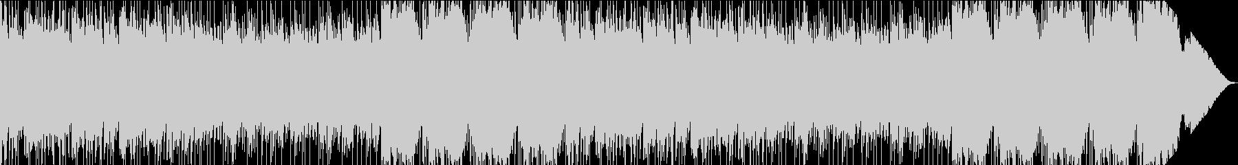 メロディアスで幻想的なエレクトロの未再生の波形