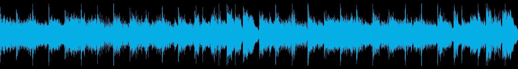 不利な状況に追い込まれたときの曲の再生済みの波形