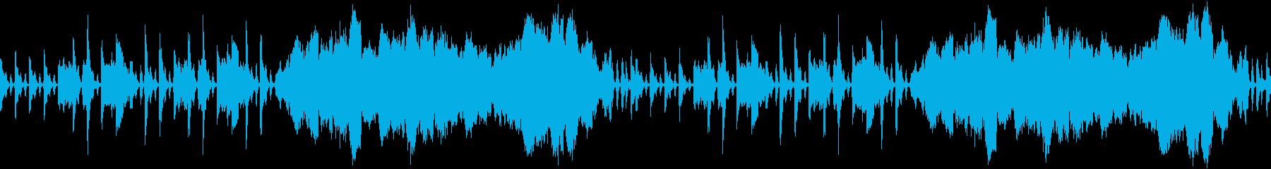 ストリングス主体の優雅なワルツの再生済みの波形