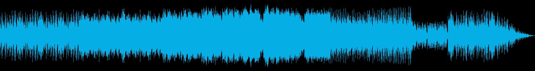 星の導きを感じさせるBGMの再生済みの波形