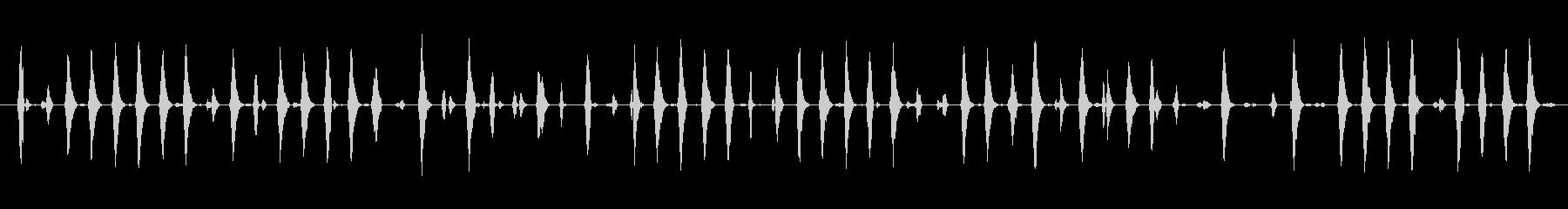 イメージ 電子鳥チャープロング03の未再生の波形