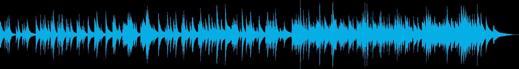 爽やかで優しいピアノ曲(明るい、温かい)の再生済みの波形