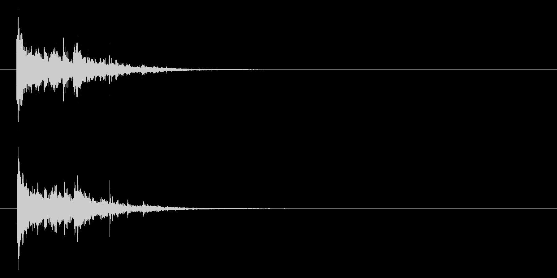 ガシャーン」粉々にガラスの割れる音+FXの未再生の波形