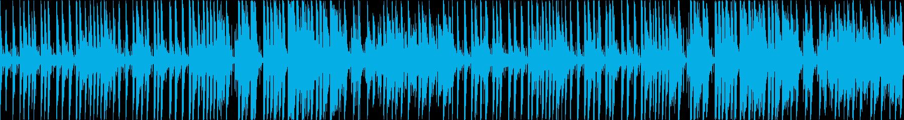 キラキラした雰囲気の温かいポップス(1尺の再生済みの波形