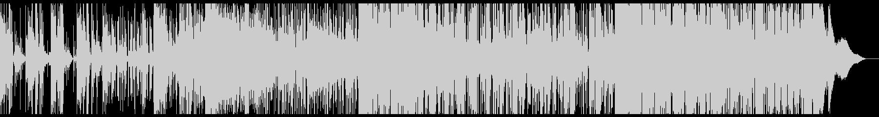 おどけたグリッチなテクスチャIDMの未再生の波形
