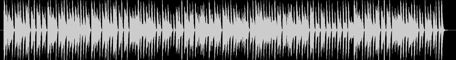 あやしくコミカルなピアノソロ2の未再生の波形