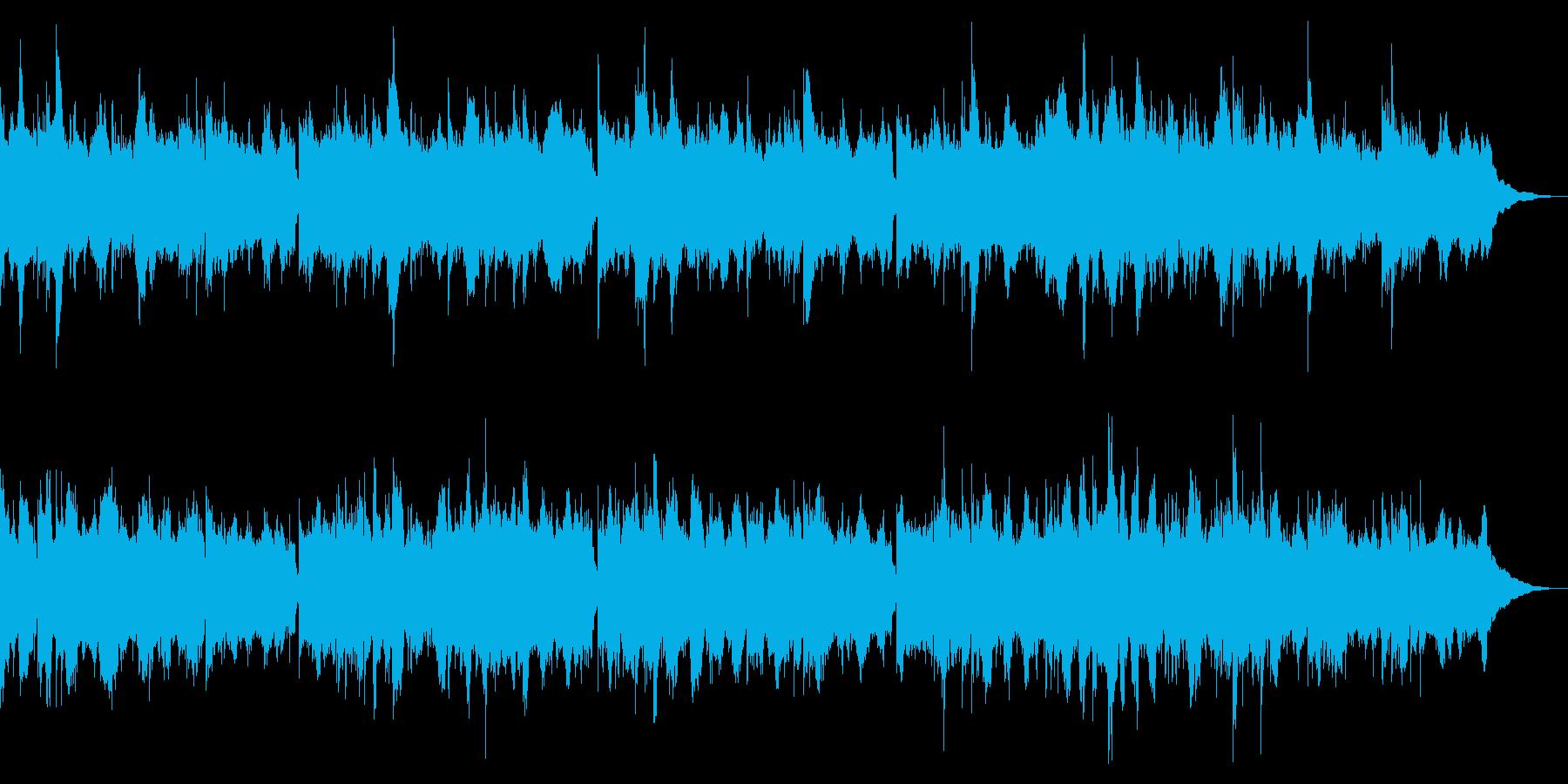 威風堂々 エドワードエルガー シンセ版の再生済みの波形
