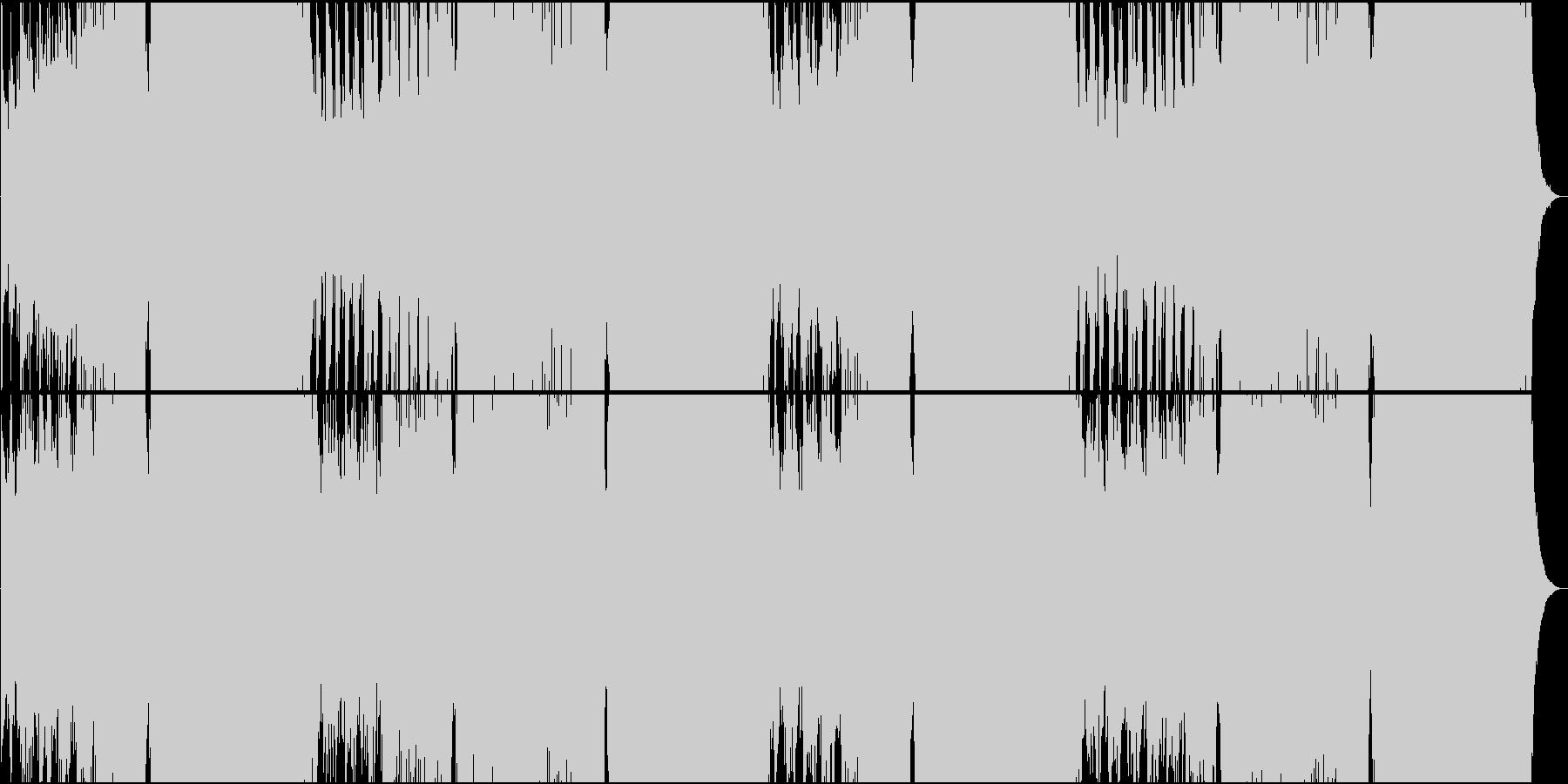 クラシカルでパワー系EDMの未再生の波形