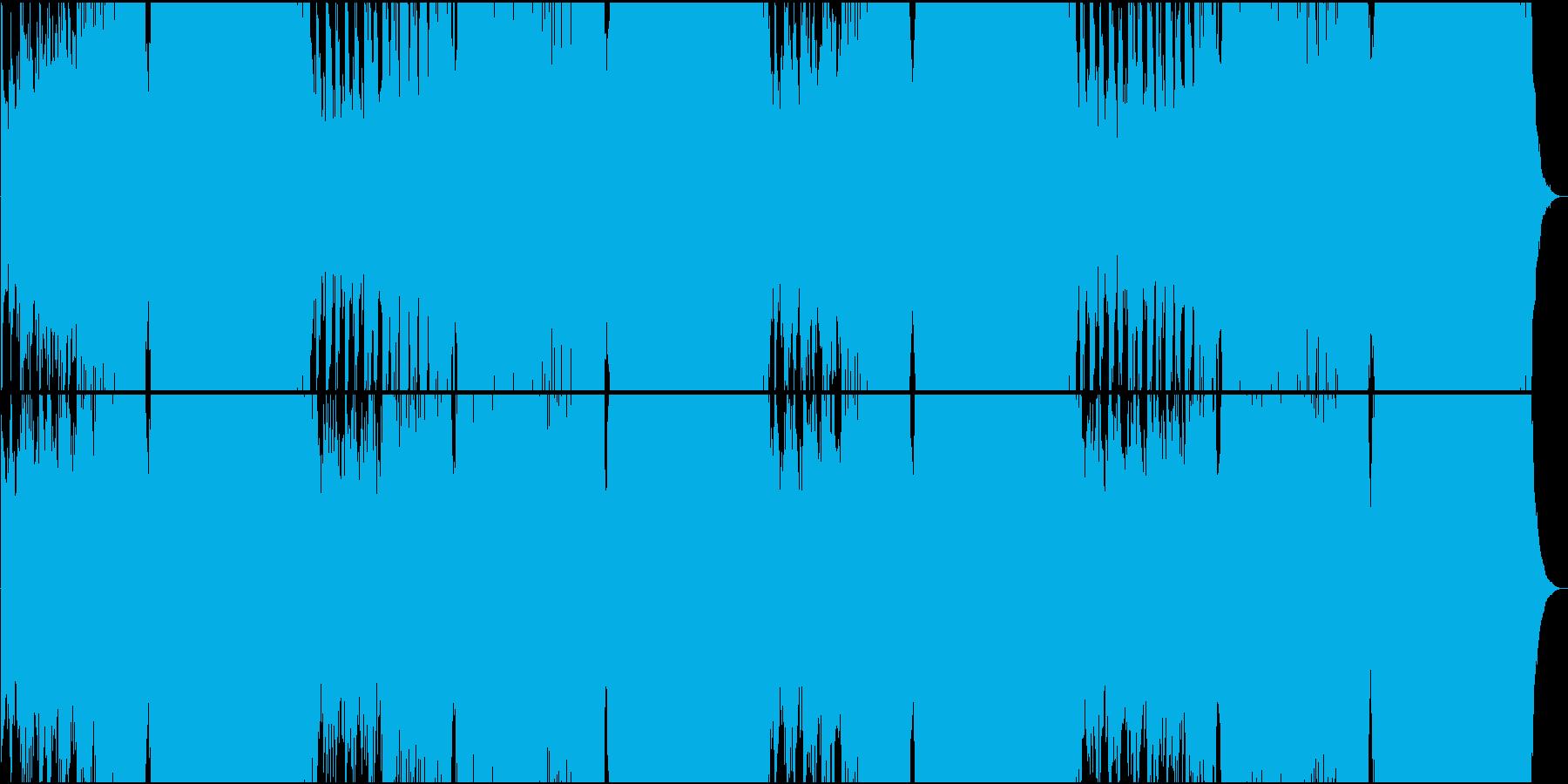 クラシカルでパワー系EDMの再生済みの波形