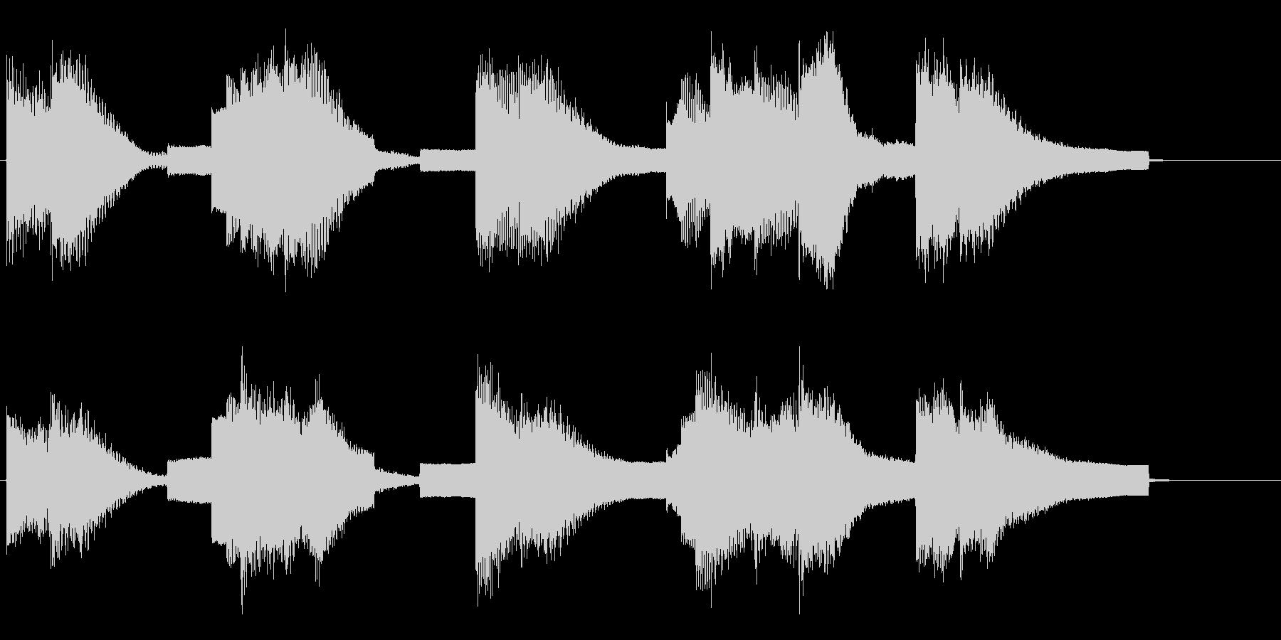 エレクトリックピアノとシンセリードによ…の未再生の波形