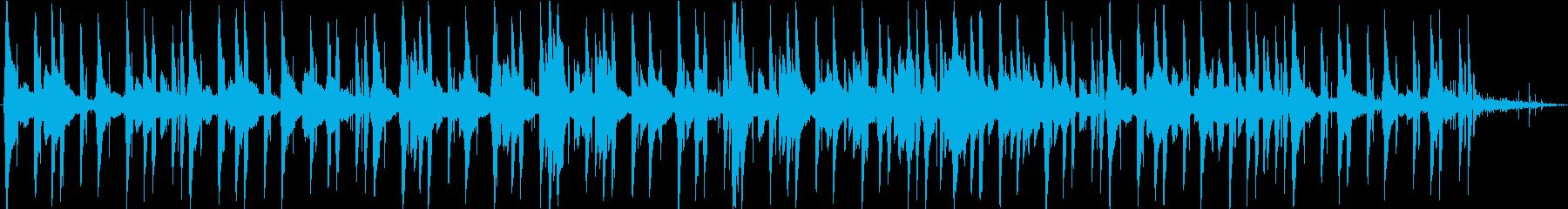 夜の街で聴きたいLofi-hiphopの再生済みの波形
