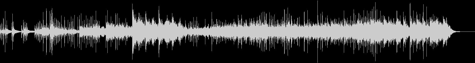ノスタルジックなピアノの幻想的なBGMの未再生の波形