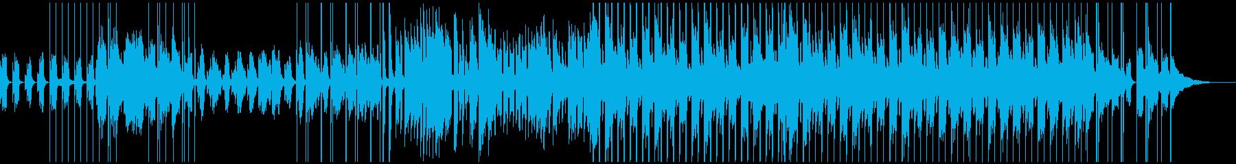 おしゃれ かわいい アコースティックの再生済みの波形